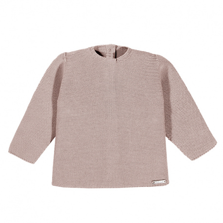Pull point mousse VIEUX ROSE