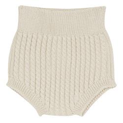Aran stitch culotte LINEN