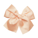 Hair clip with big bow NUDE
