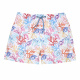 Boxer teixit quick dry coral reef BLANC