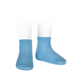 Elastic cotton ankle socks CLOUD