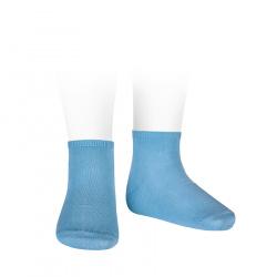Elastic cotton ankle socks CLOUD