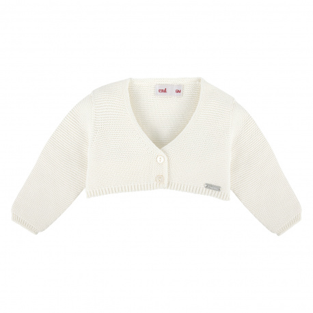 Bolero en tricot CREME