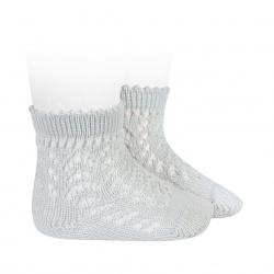 Chaussettes courtes coton ajourée PERLE