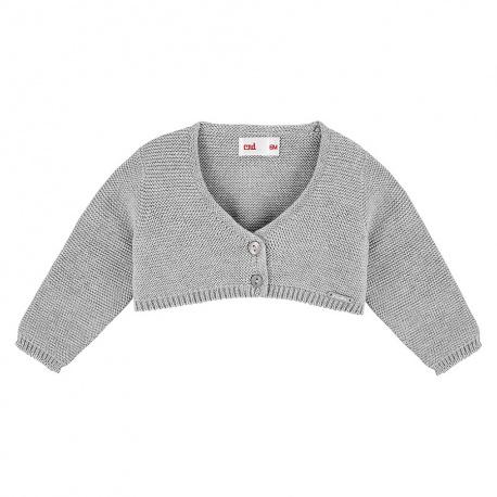 Bolero en tricot ALUMINIUM