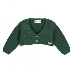 Bolero en tricot VERD BOUTEILLE