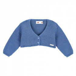 Bolero en tricot BLEU FRANCE