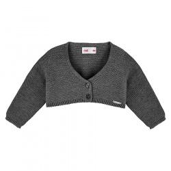 Bolero en tricot ANTHRACITE