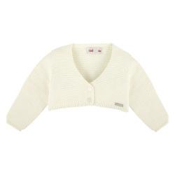 Bolero en tricot ECRU