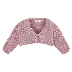 Bolero en tricot PALE ROSE