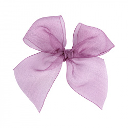 Hairclip with organza bow CASSIS
