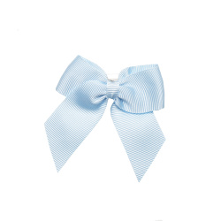 Hair clip with small bow BABY BLUE