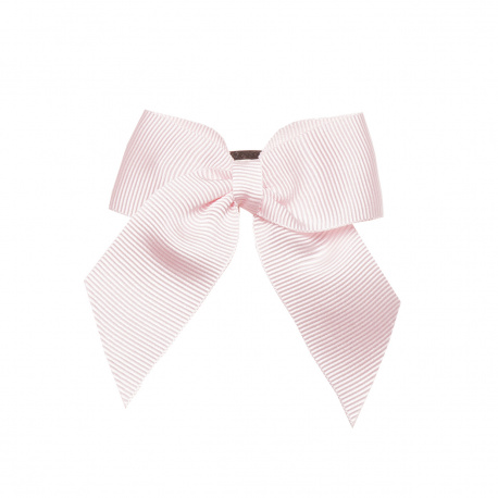 Hair clip with small bow PINK