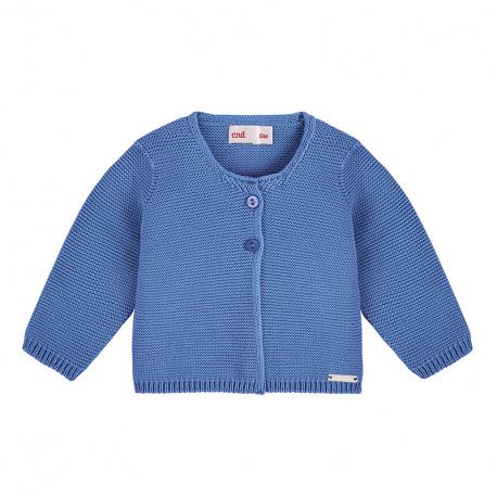 Cardigan en tricot BLEU FRANCE