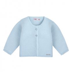 Cardigan en tricot BLEU BEBE