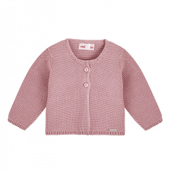 Cardigan en tricot PALE ROSE