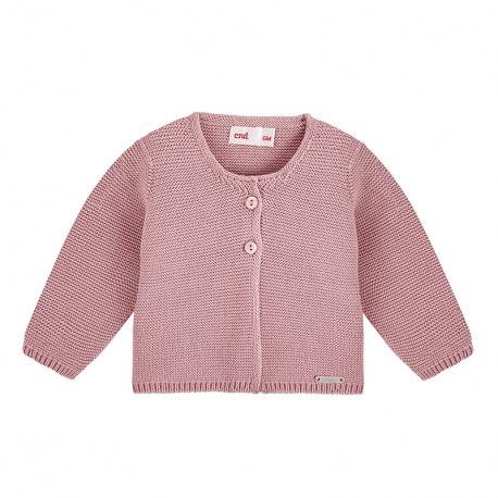 Cardigan en tricot PALE ROSE