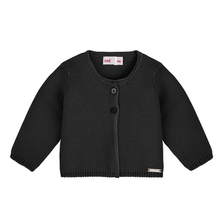 Cardigan en tricot NOIR