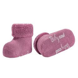 Baby cnd terry boots with folded cuff CASSIS