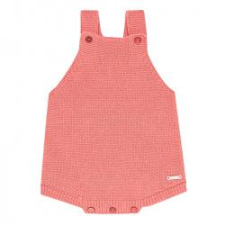 Barboteuse bébé tricot coton PIVOINE