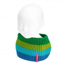 Cuello baby multicolor punto perlado AZULON