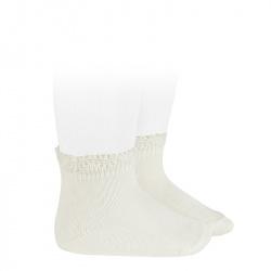 Calcetines cortos bolillo calado NATA