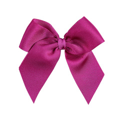 Hairclip with grossgrain bow BUGAMBILIA