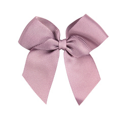 Hairclip with grossgrain bow PALE PINK