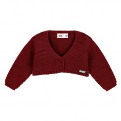 Bolero en tricot GRENAT