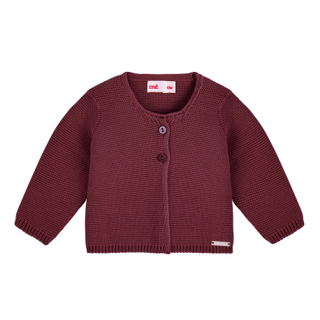 Cardigan en tricot GRENAT