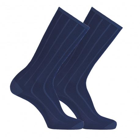 Chaussettes modal côtele printemps homme