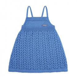 Spike stitch openwork dress MAYAN