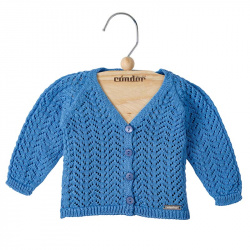 girls openwork cardigan MAYAN