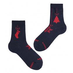 Christmas ornament short socks