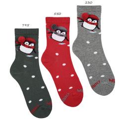 Christmas penguin socks