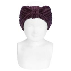 English stitch hair turban BURDEAUX