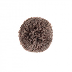 Hair clip with pompom TRUNK