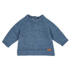 Merino blend flared sweater with links JEANS