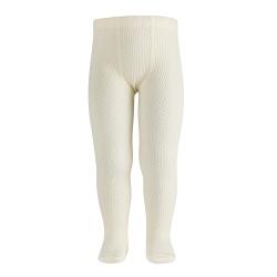 Merino wool-blend patterned tights BEIGE