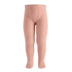 Merino wool-blend patterned tights MAKE-UP
