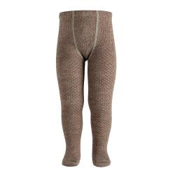 Calzamaglie in misto lana con riciamo inrilieve TRONCO