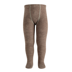 Merino wool-blend patterned tights TRUNK