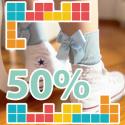 Rebaixes calceteria 50%