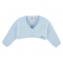 Knit short cardigan
