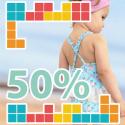 Rebaixes bany 50%