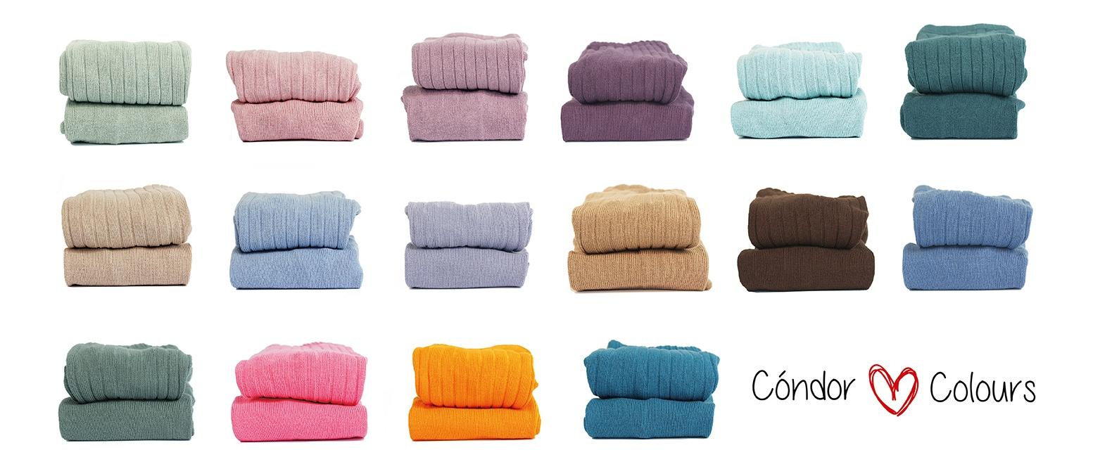 Calcetines chaquetas y leotardos infantiles c ndor for Colores condor