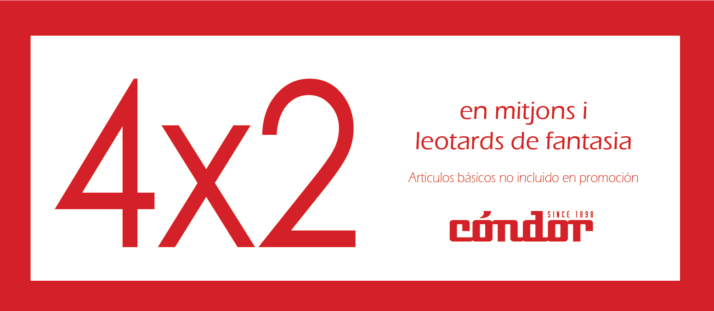 4x2 mitjons i leotards